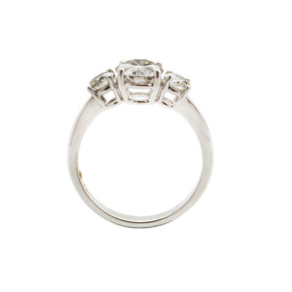 TRINITY DIAMOND ENGAGEMENT RING