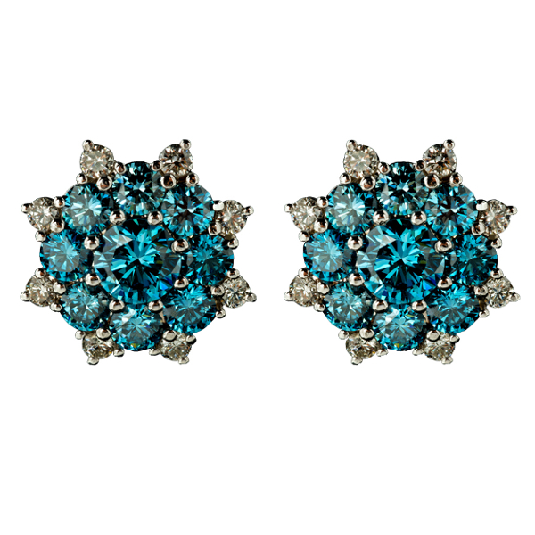 BLUE DIAMOND ROSITA EARRINGS